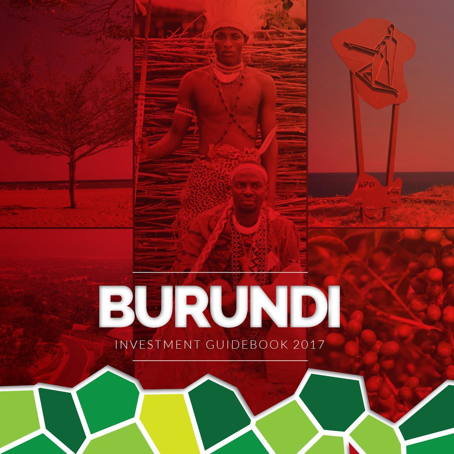 Burundi investment climate in kenya brian karavlan touchstone investments
