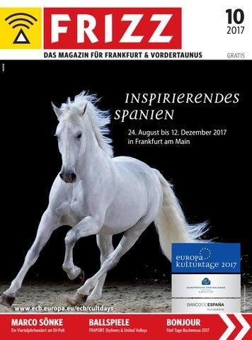 FRIZZ Das Magazin Frankfurt Oktober 2017 by frizz frankfurt