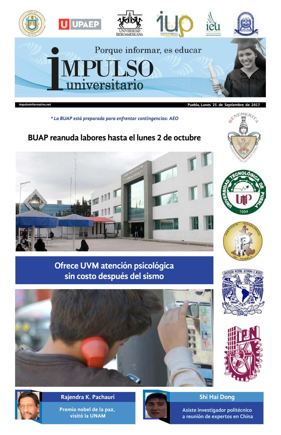 Impulso Universitario Impreso 25 septiembre 2017 by Impulso ...