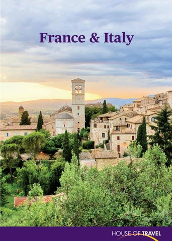 cbca3414e5 France   Italy Brochure 2018 by House of Travel - issuu