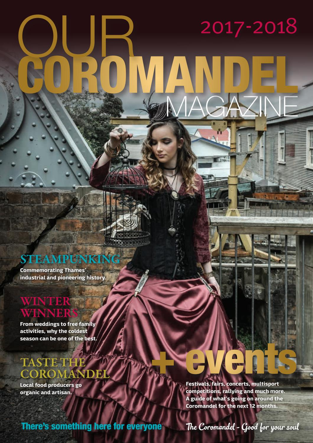 Our Coromandel Magazine 2017 18 By Thames District Byo Concert Medium In Sand Council Issuu
