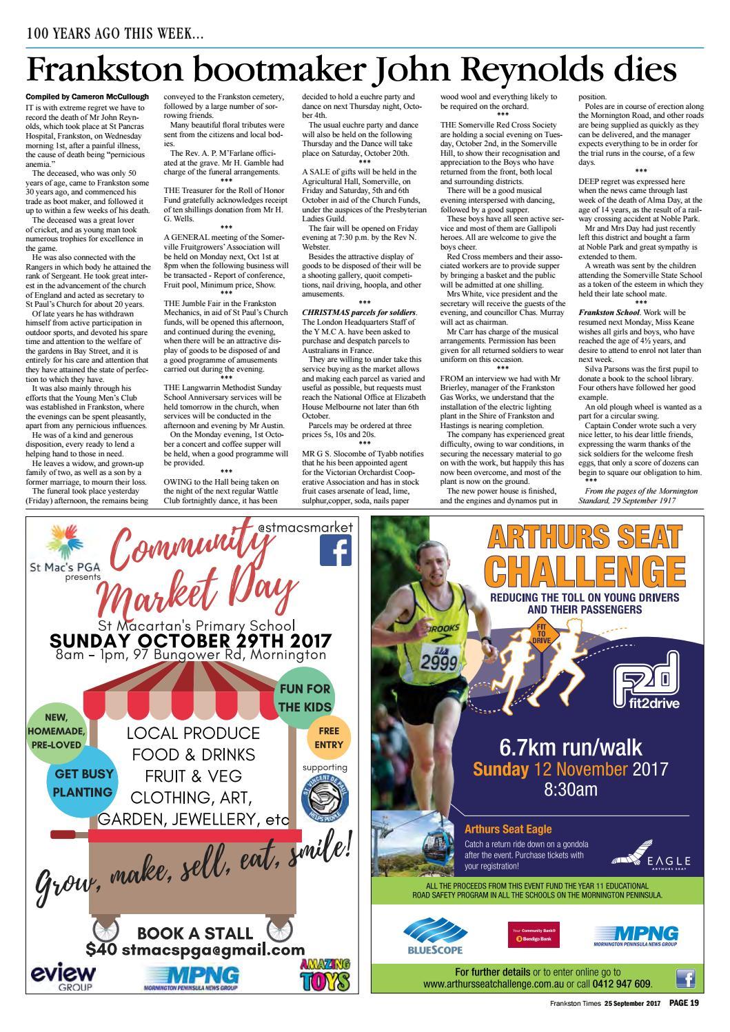 25 September 2017 By Mornington Peninsula News Group Issuu