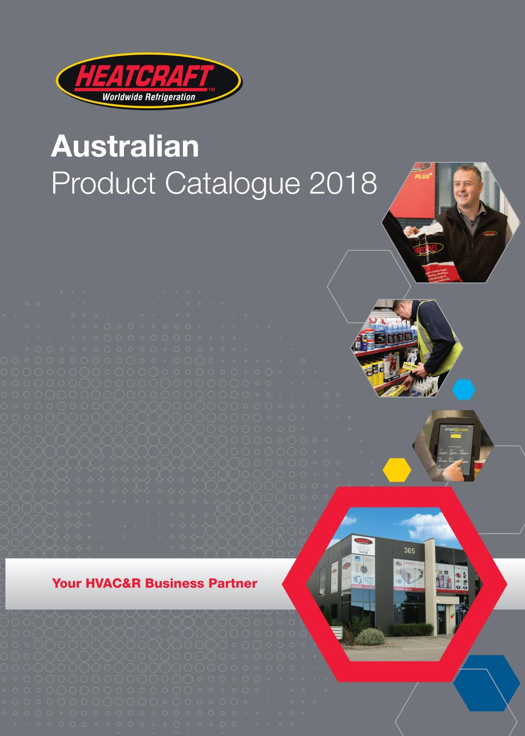 2018 Heatcraft Aus Product Catalogue By Kirby Hvac Amp R Pty