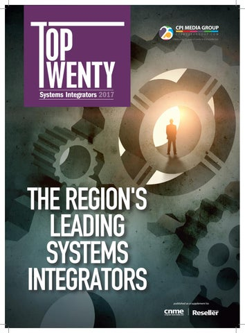 Top Twenty - Systems Integrators 2017 by Computernews Middle