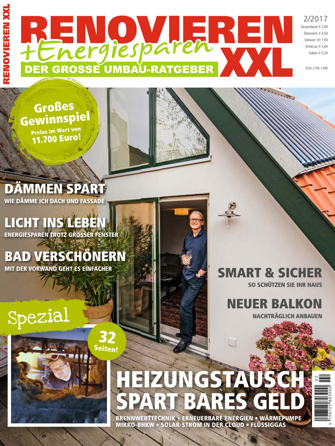 renovieren energiesparen 2 2017 by family home verlag gmbh issuu. Black Bedroom Furniture Sets. Home Design Ideas