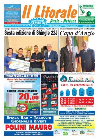Il Litorale - Anno XVII - N. 16 - 16 30 Settembre 2017 by Il Pontino ... c0b49c49d41c