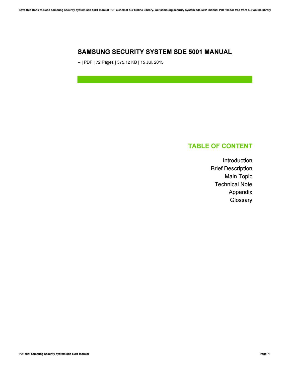 Sde-5001n-16b   security pros.