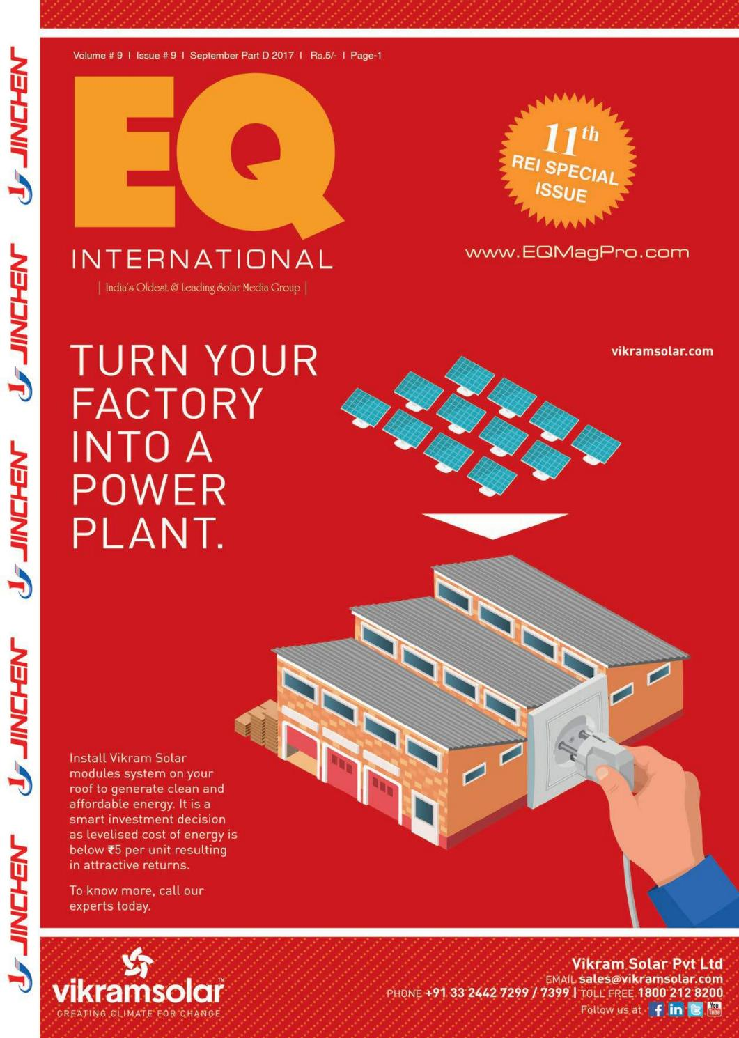 Eq Magazine Sept 2017 Part 4 By Intl Solar Media Group Issuu Portable Powered Mobile Phone Battery Charger Ecn Blog