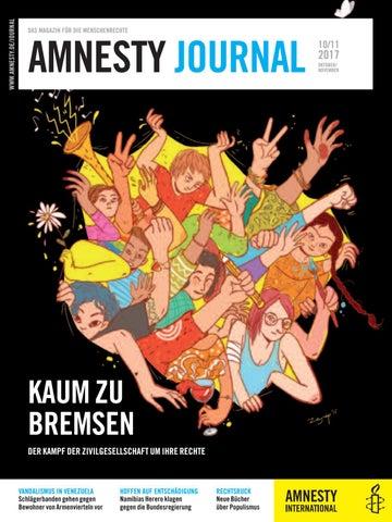 Amnesty Journal: Ausgabe Oktober/November 2017 by Amnesty ...
