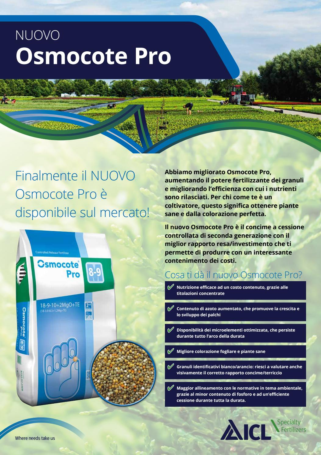 Concime Per Piante In Granuli ita_news_osmocote pro 2017/02 by icl specialty fertilizers