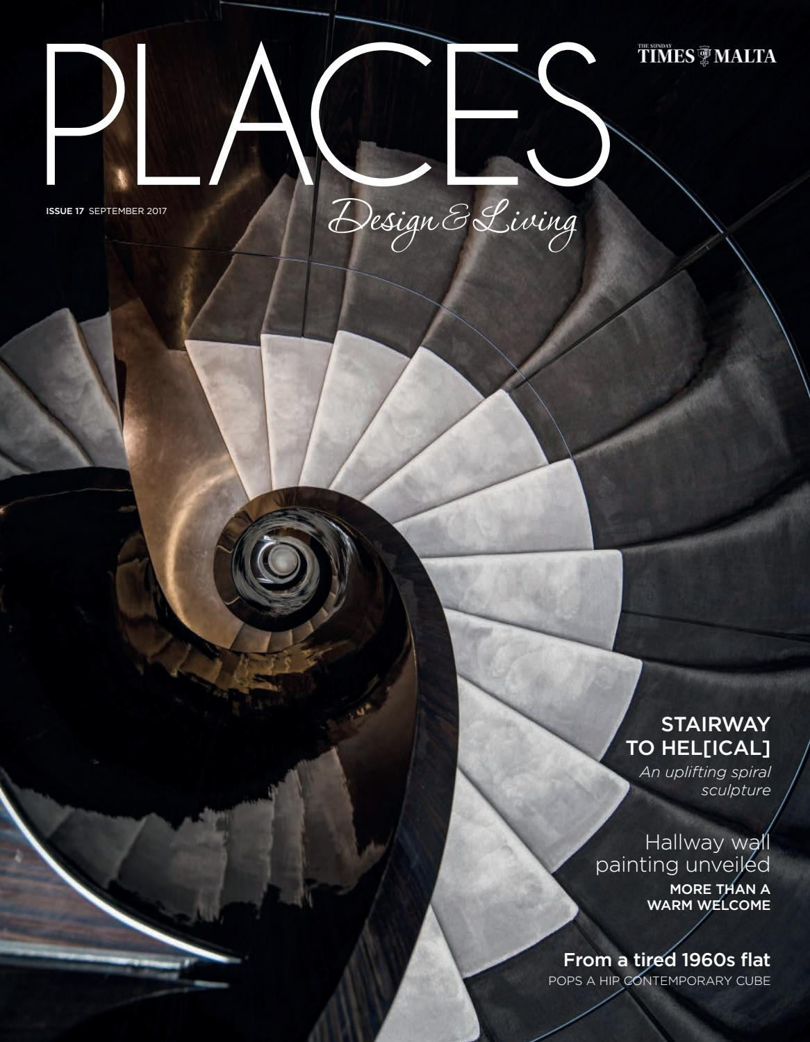 Places Design Living September 2017 By Times Of Malta Issuu Surface Wiring Conduit The Garage Journal Board