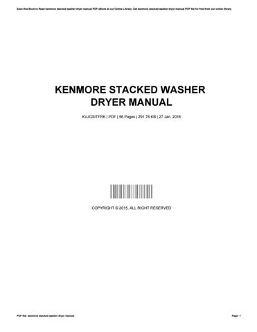 electrolux aqualux 1200. kenmore stacked washer dryer manual electrolux aqualux 1200