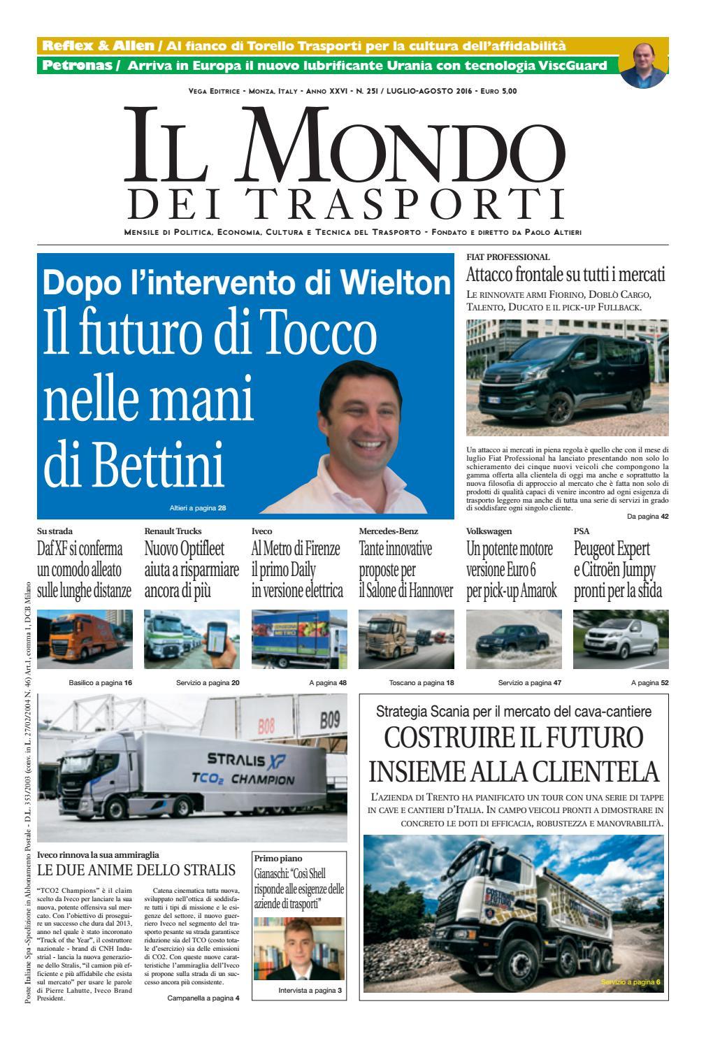 b0c4cd656b37 Il Mondo dei Trasporti - Luglio Agosto 2016 by Vega Editrice - issuu