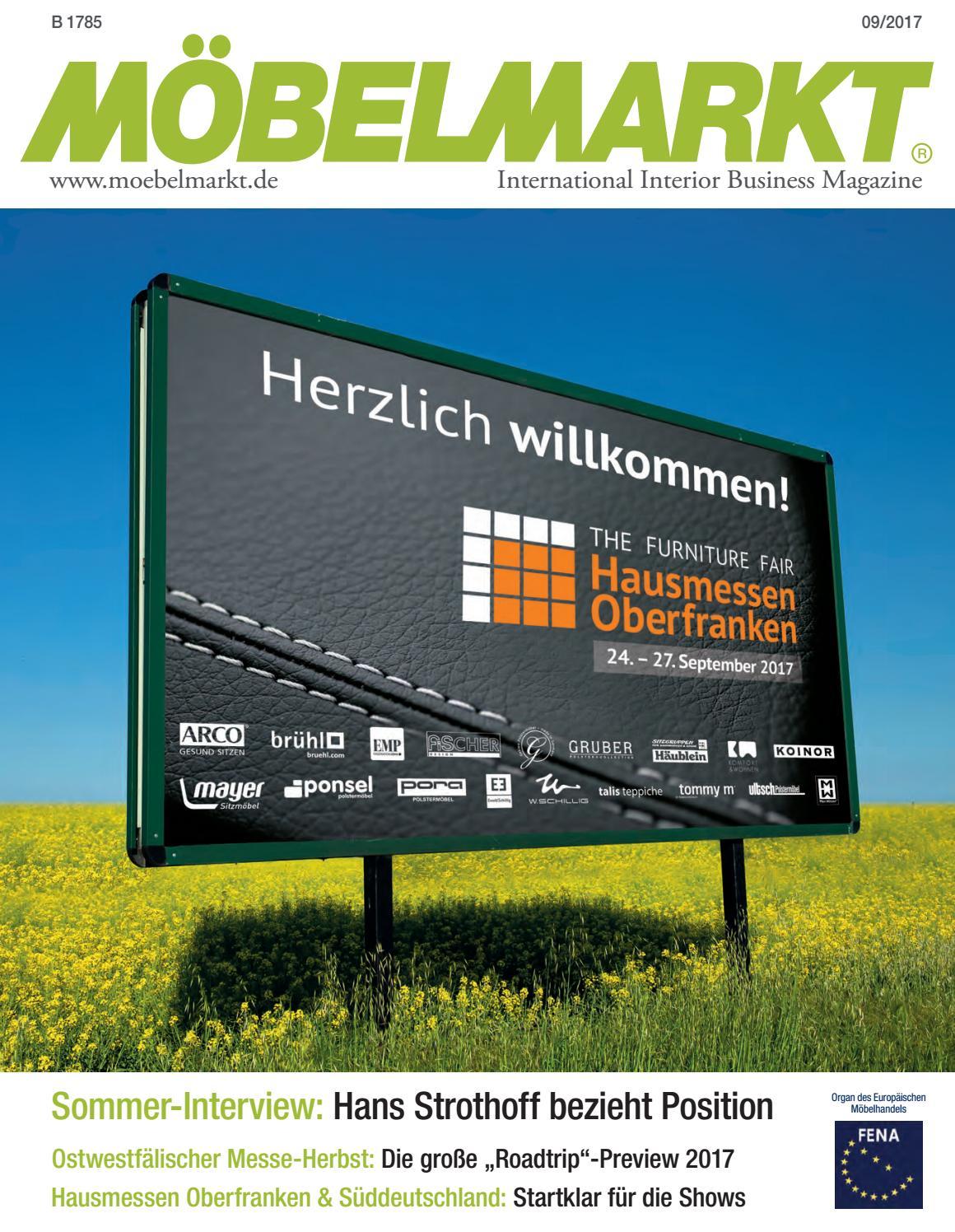 Einfache Dekoration Und Mobel Gemeinsamkeiten Des Industrial Und Des Skandinavischen Stils #21: Moebelmarkt 09 2017 By Verlag Matthias Ritthammer GmbH - Issuu