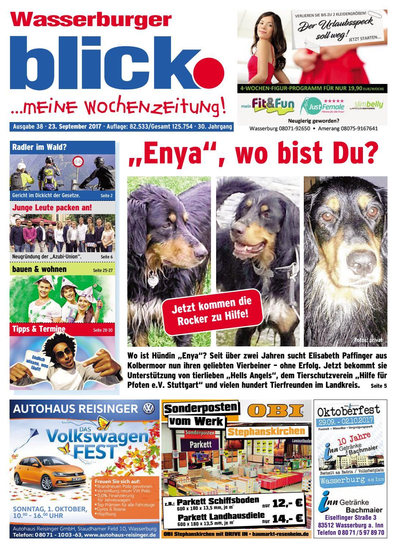 Wasserburger Blick Ausgabe 38 2017 By Blickpunkt Verlag Issuu