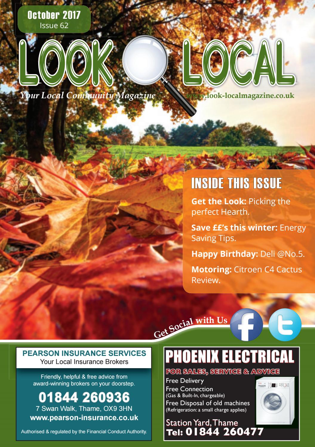63780290 Look Local Magazine, Oxon Edition: October 2017, Issue 62 by Look ...