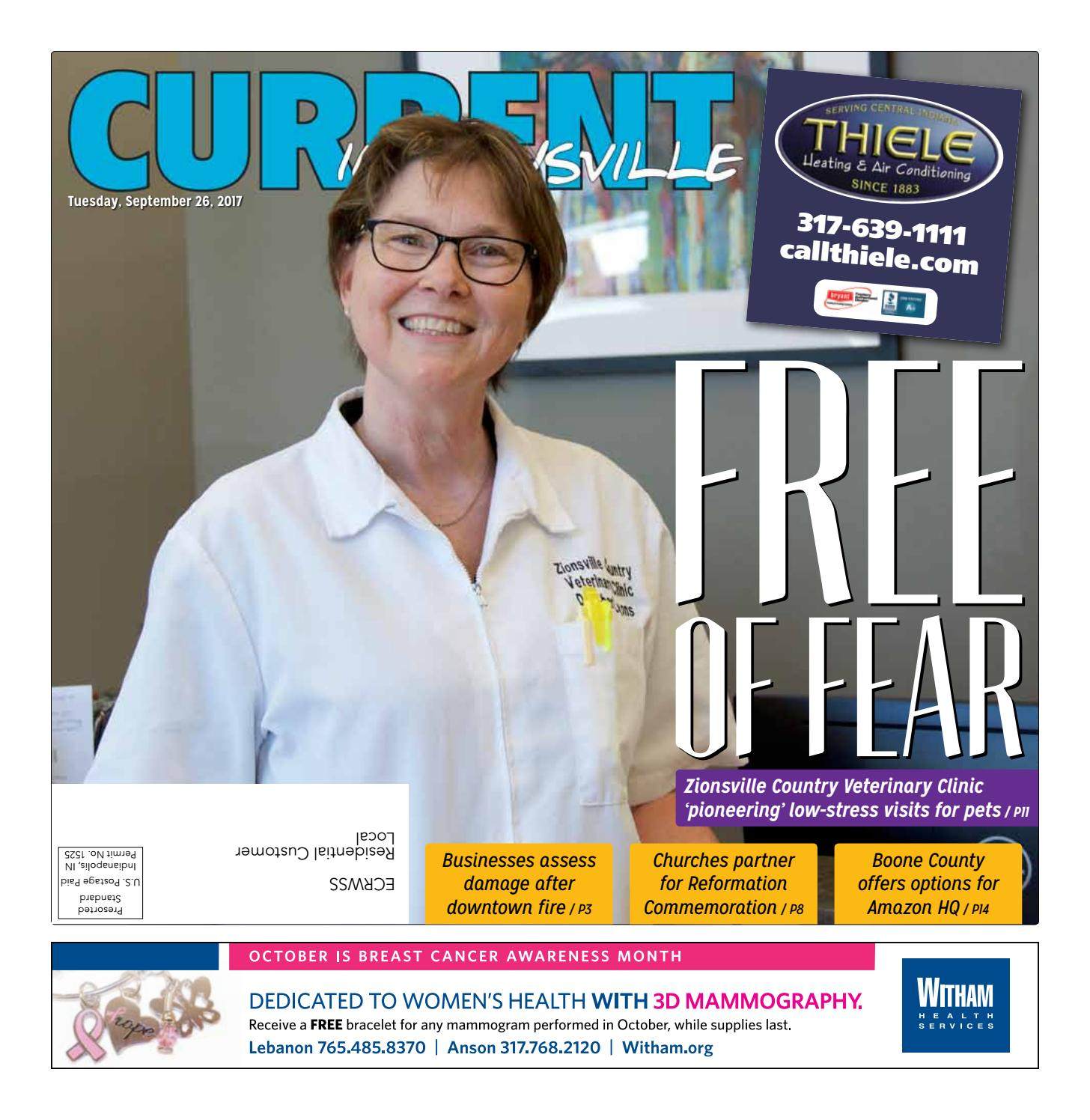 September 26, 2017 – Zionsville by Current Publishing - issuu
