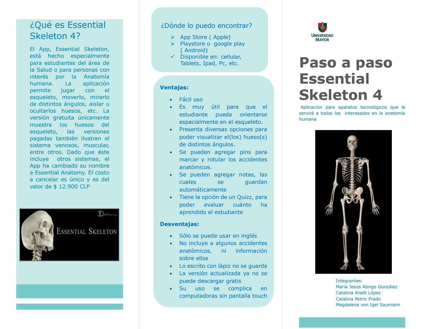 Contemporáneo Anatomía Aplicaciones Gratis Cresta - Anatomía de Las ...