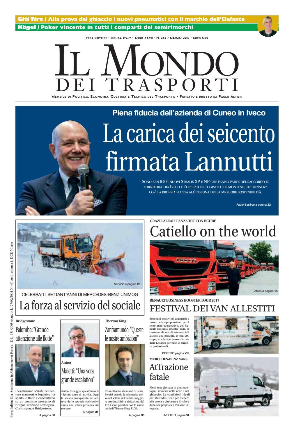 c40d8d2119 Il Mondo dei Trasporti - Marzo 2017 by Vega Editrice - issuu