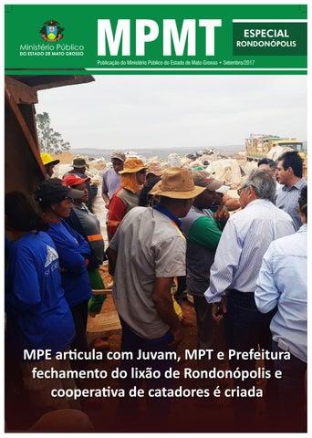 MPE e parceiros fecham lixão e cooperativa de catadores é criada -- MPMT