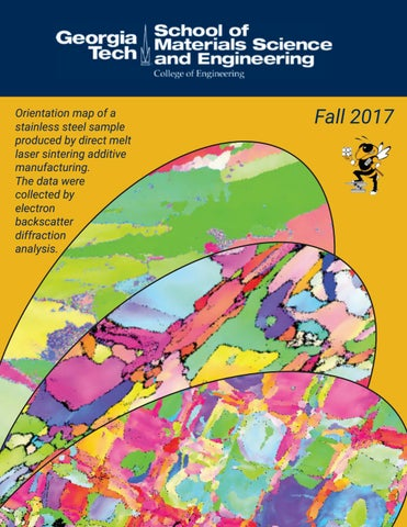 Map Of Georgia Tech.Georgia Tech Materials Science And Engineering 2017 Newsletter By