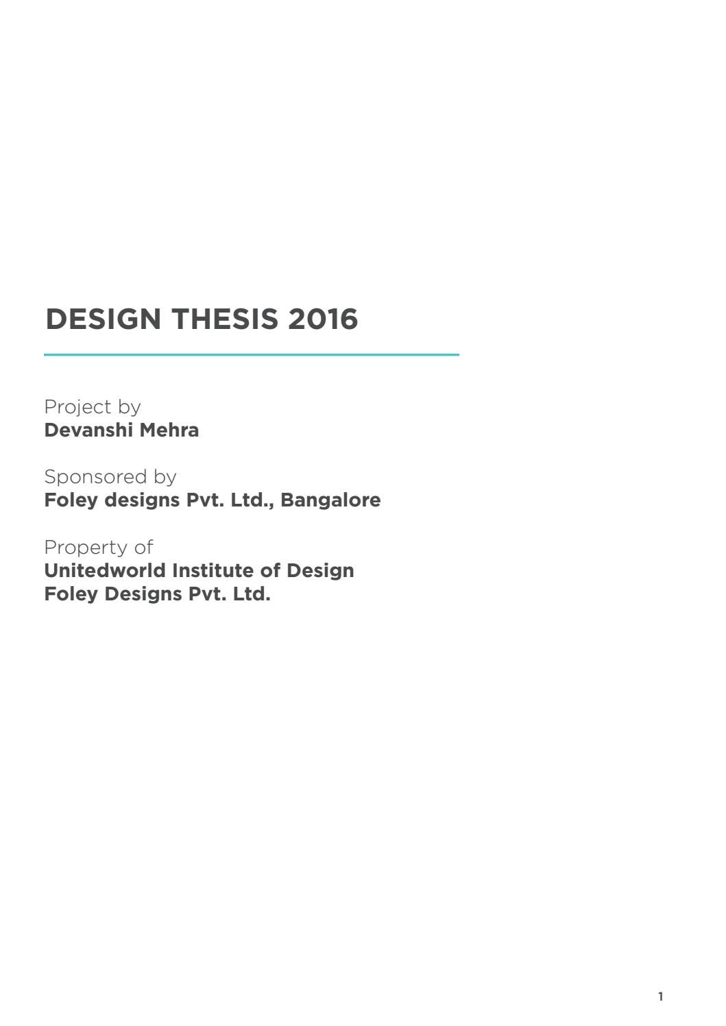 Thesis project 2016 (Public Toilets) by Devanshi Mehra - issuu
