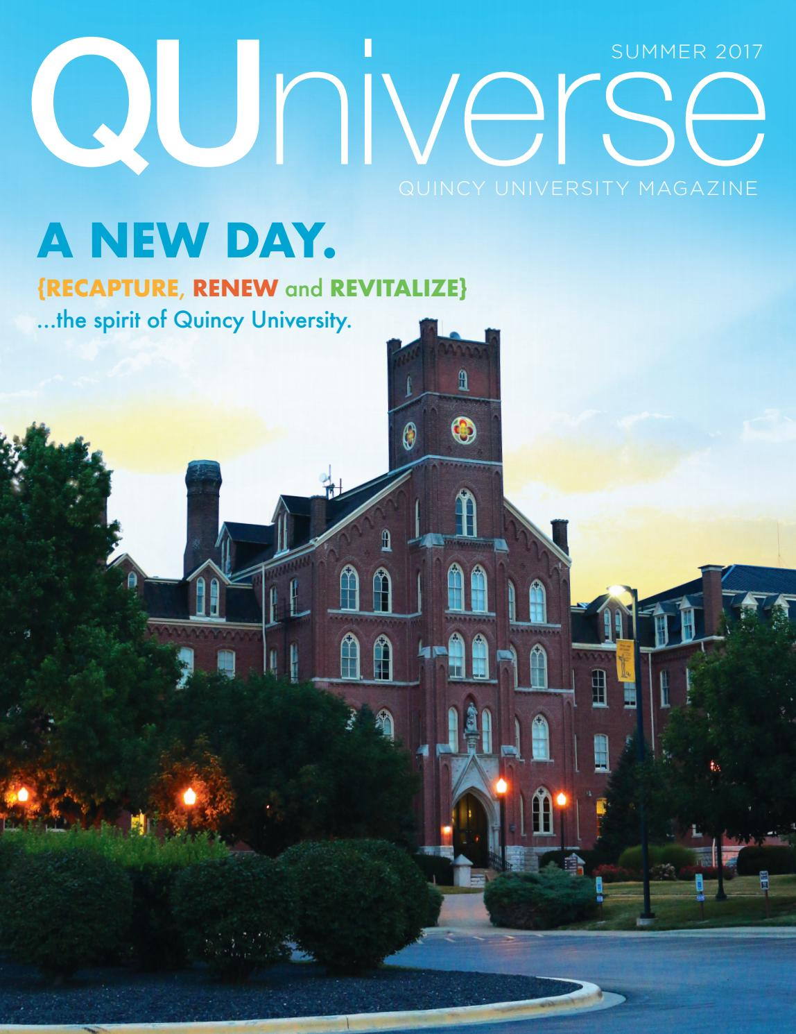 QUniverse Summer 2017 by quincy university - issuu 458993668