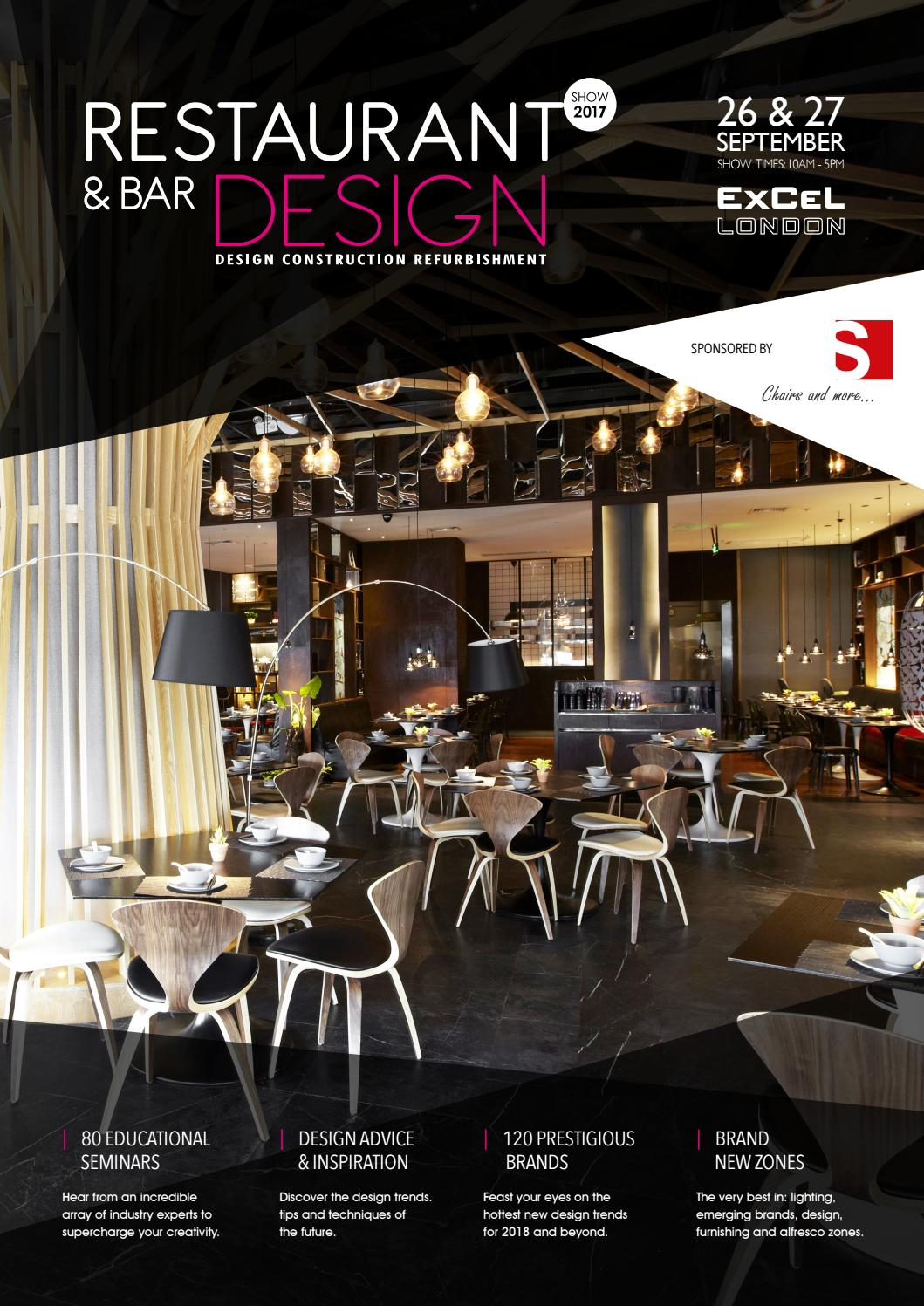 Restaurant And Bar Design 2017 Show Guide By Prysm Group Issuu