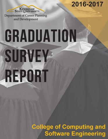 CSE Grad Survey Report 16 17 by Kennesaw State University