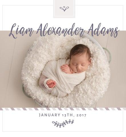 Baby Album Template For Photographers By Stephanie Hamilton Issuu