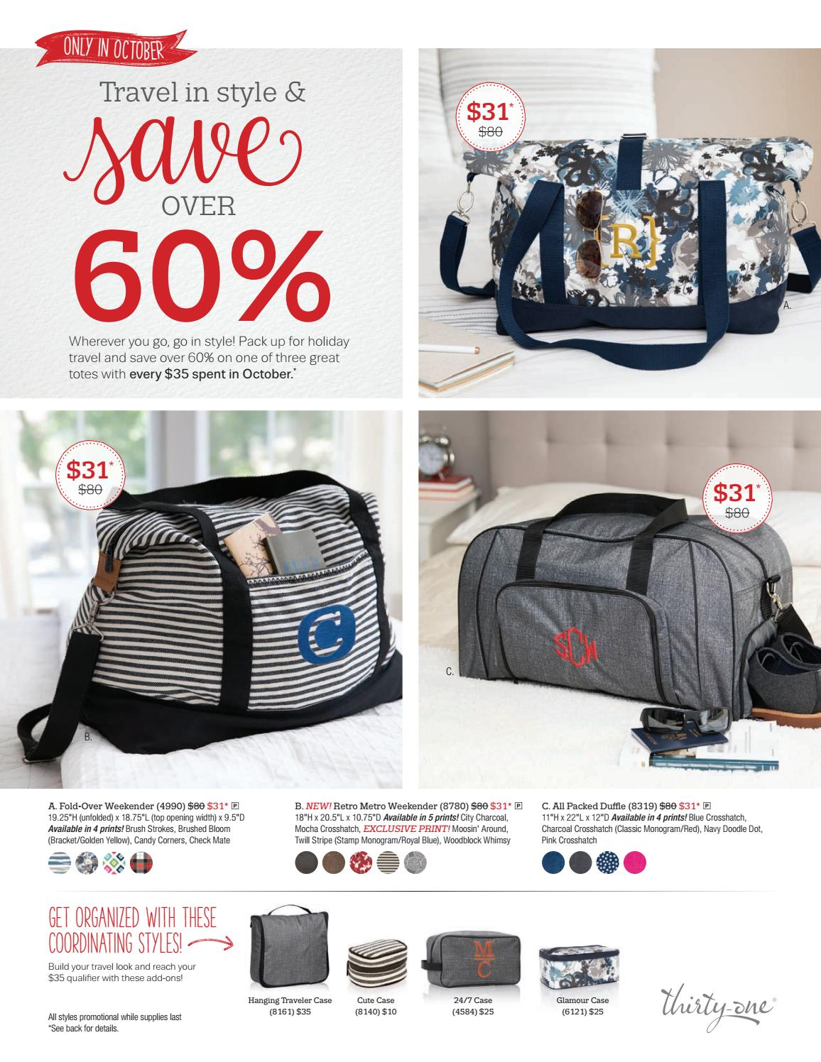 85c564258a7c Thirty-One Gifts October Customer Special by kristinmoses - issuu