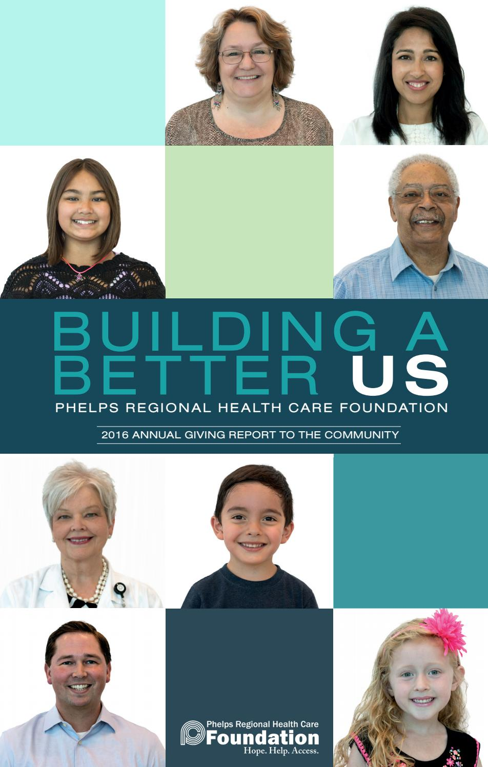 Debra Jo Rupp Boobs Best 2016 phelps regional health care foundation annual report