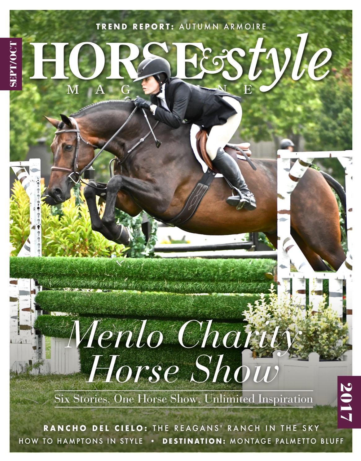 Horse & Style Magazine September/October 2017 by Horse ...