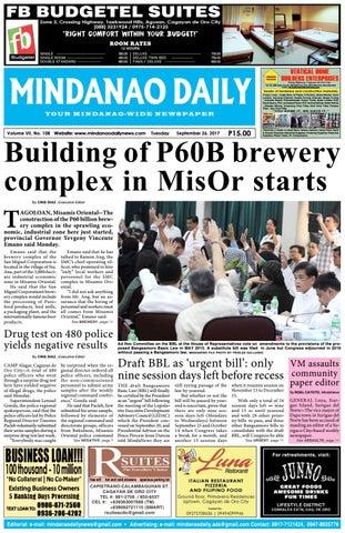 Mindanao Daily September 26 2017 By Mindanao Daily News Issuu