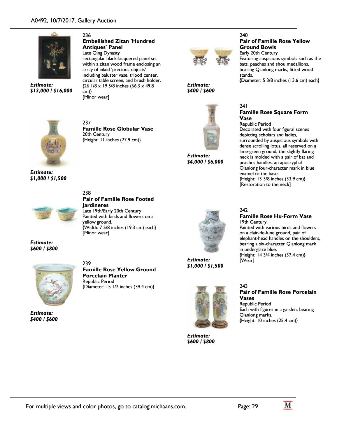 October Gallery Auction catalog by Michaan's Auctions - issuu