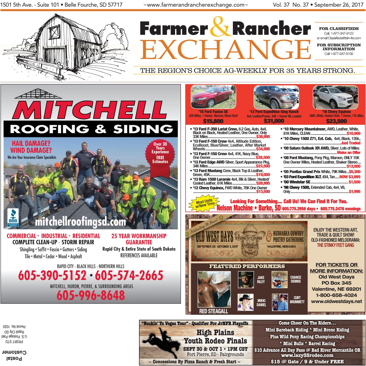 Fre 09 26 17 by Tri-State Livestock News - Farmer & Rancher