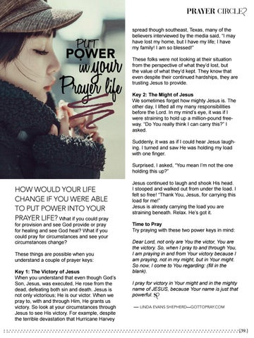 Page 39 of Put Power In Your Prayer Life