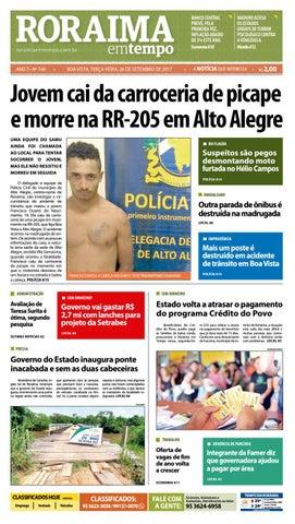 543c4bb93c Jornal roraima em tempo – edição 740 by RoraimaEmTempo - issuu