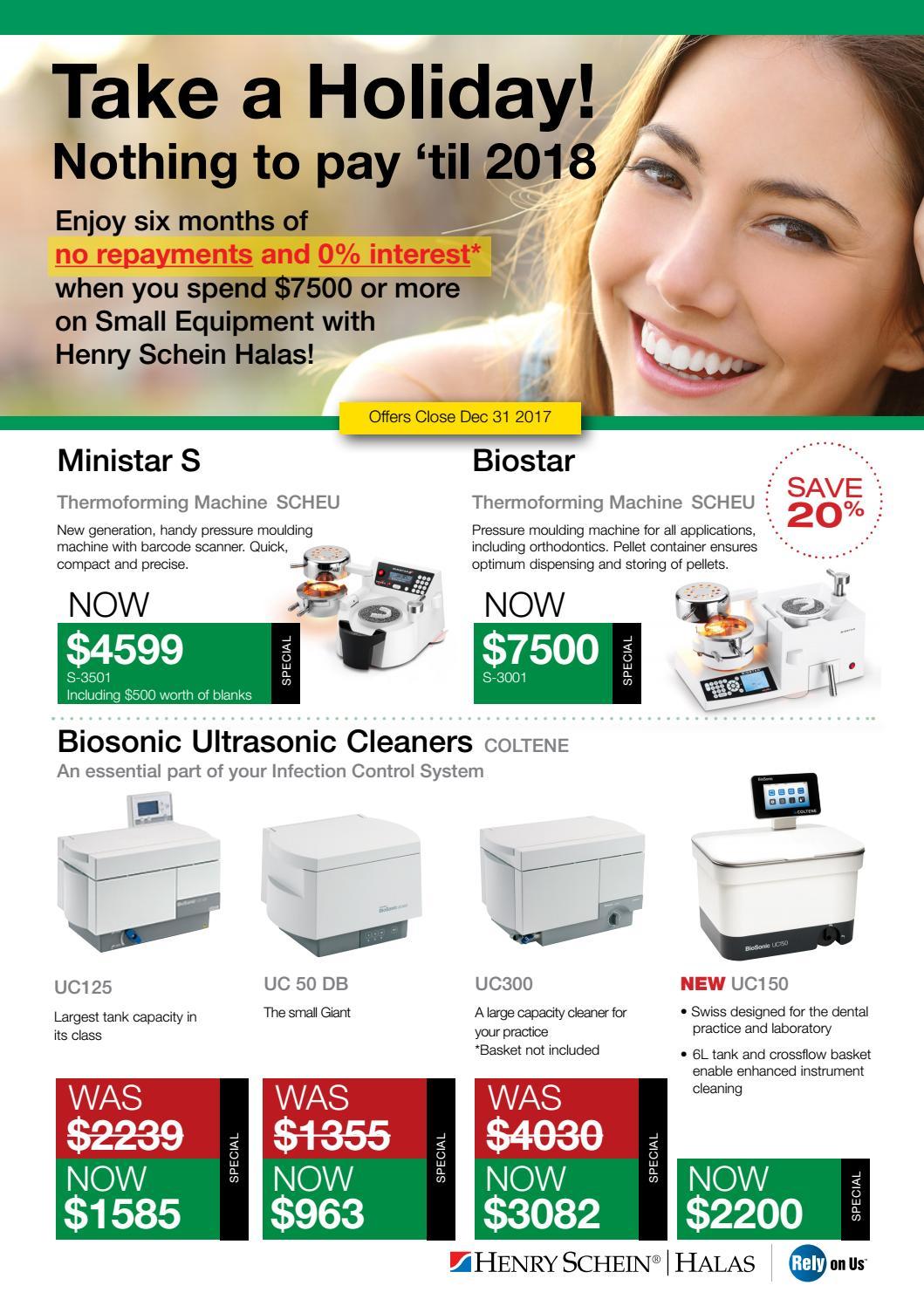 Small Equipment Sale issue by Henry Schein Halas - issuu