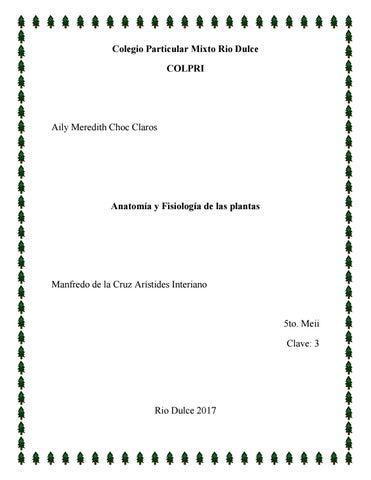 Anatomia y fisiologia by Meredith Claros - issuu
