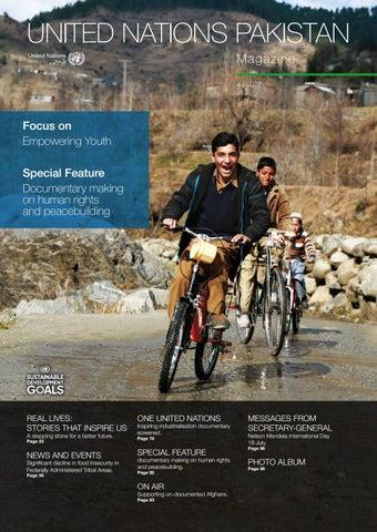 UN Pakistan Magazine - Issue 4 / 2017 by UN Information Centre