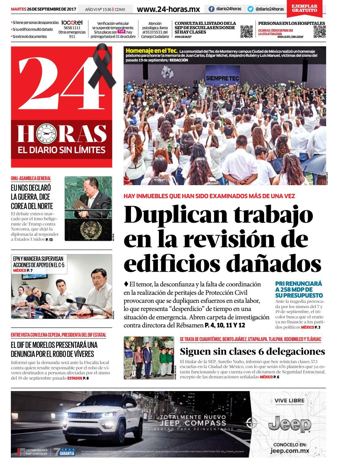 Septiembre | 26 | 2017 by Información Integral 24/7 SAPI de C.V. - issuu