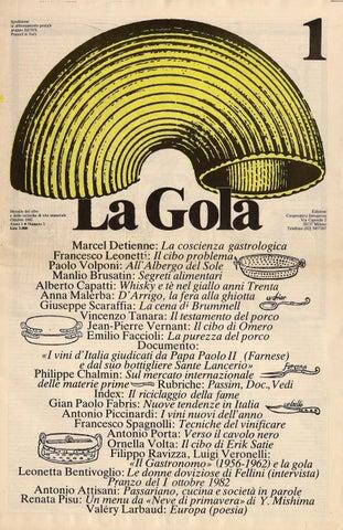 La Gola n°1 Ottobre 1982 by SteVac - issuu 521caf0905d