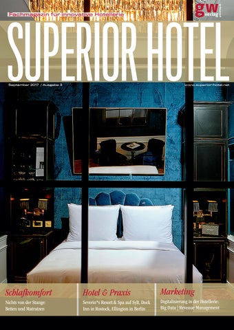 Superior Hotel 3/2017 By GW VERLAG   Issuu
