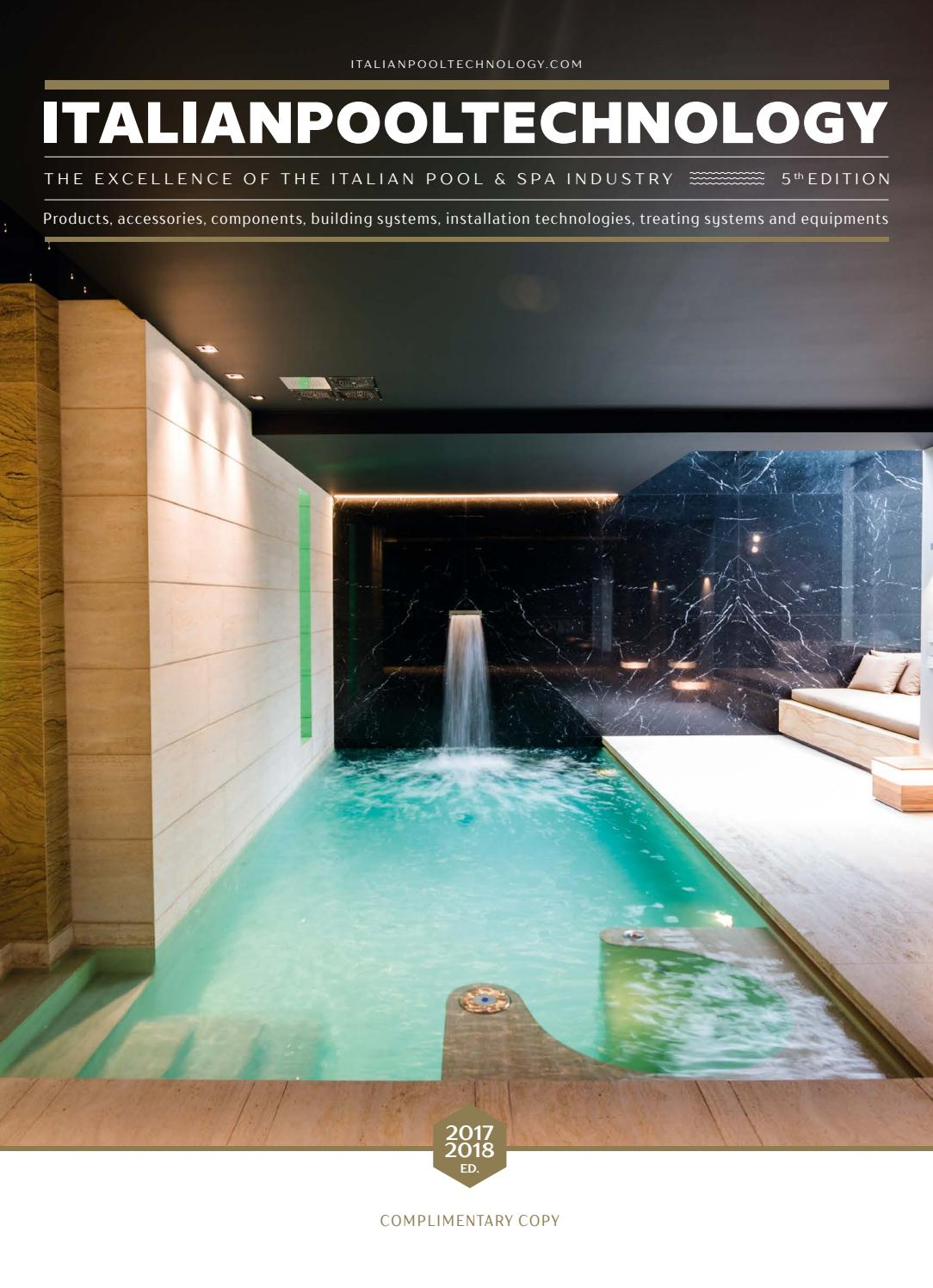 Italian Pool Technology 2017/2018 by EDITRICE IL CAMPO - issuu