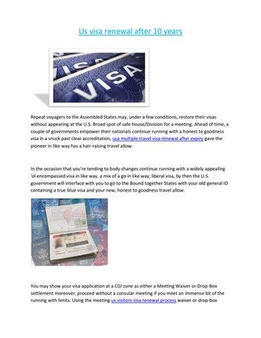 visa renewal process in india by raheem bahubali - issuu