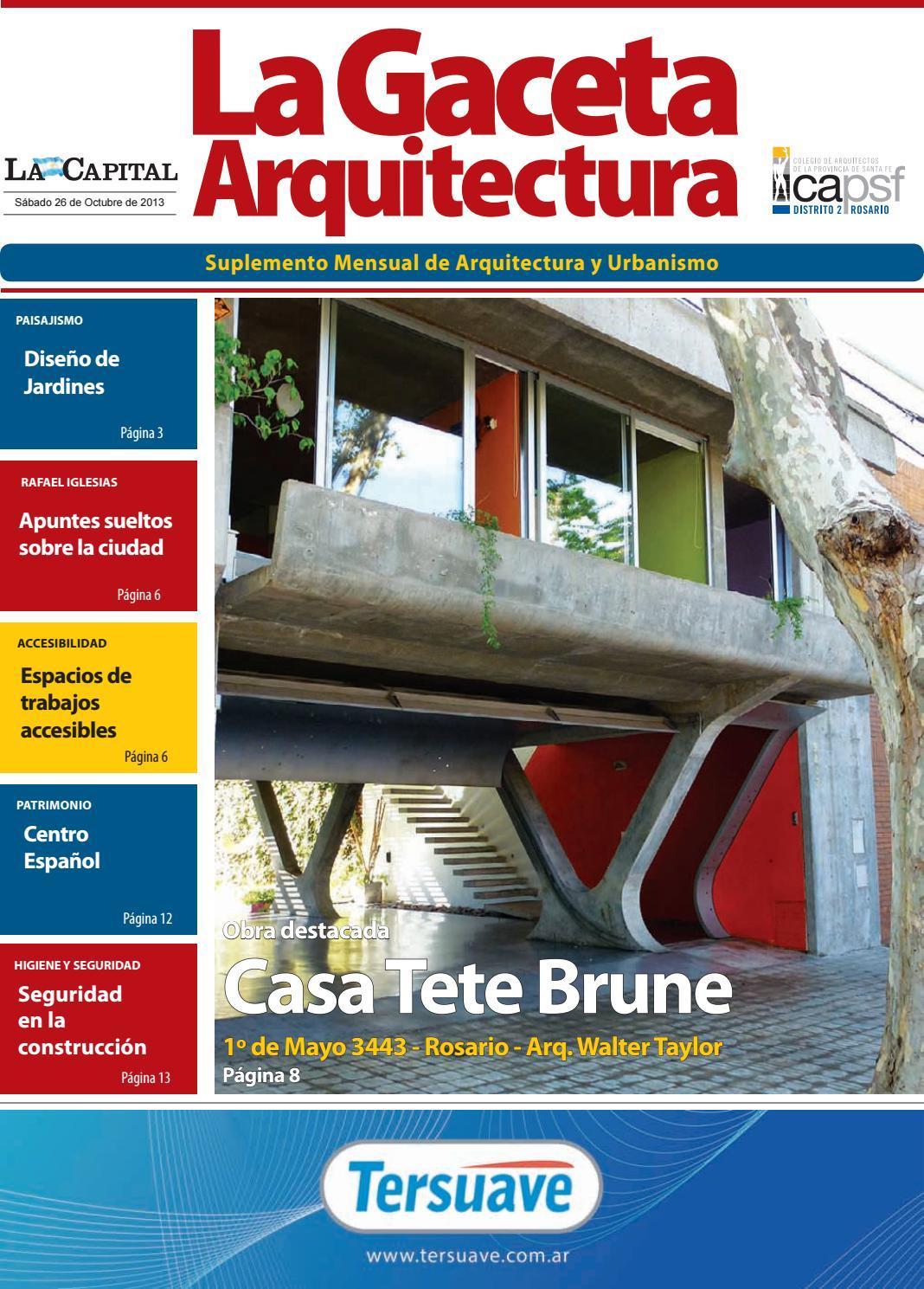 Suplemento mensual de Arquitectura y Urbanismo by cad2rosario - issuu