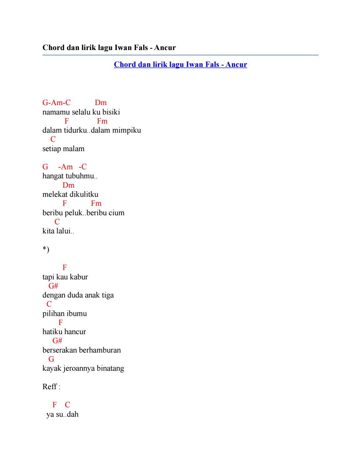 Lirik Lagu Duda Anak Dua Arsia Lirik