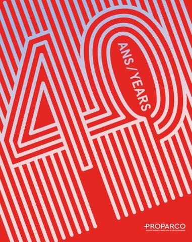 good quality on feet images of stable quality Livre des 40 ans de Proparco by Agence Française de ...