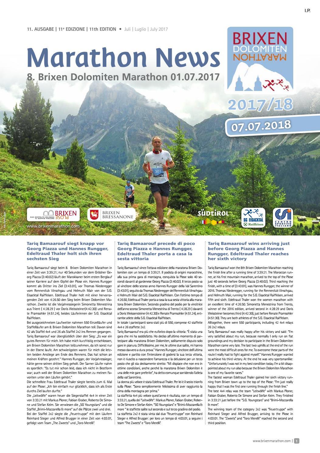Marathon News – 07/2017 by brixenmarathon - issuu